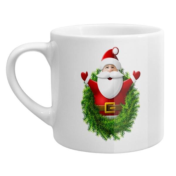 Кофейная чашка Санта Клаус