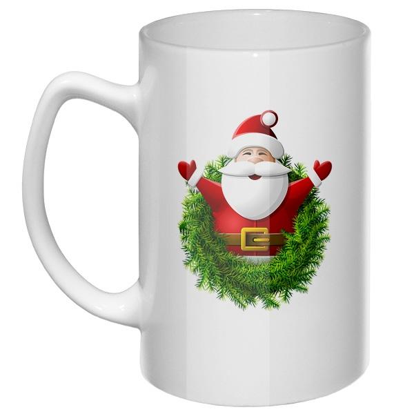 Большая кружка Санта Клаус