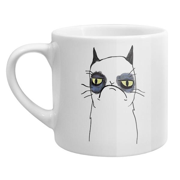 Кофейная чашка Grumpy cat