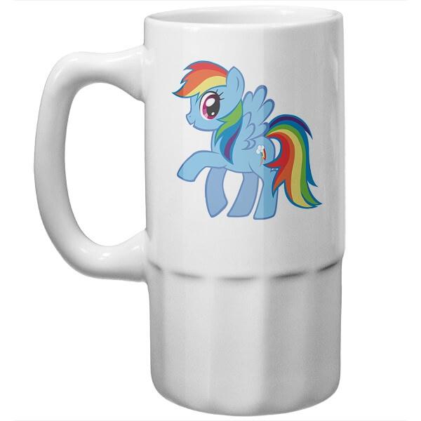Пивная кружка Радуга Дэш (Rainbow Dash)