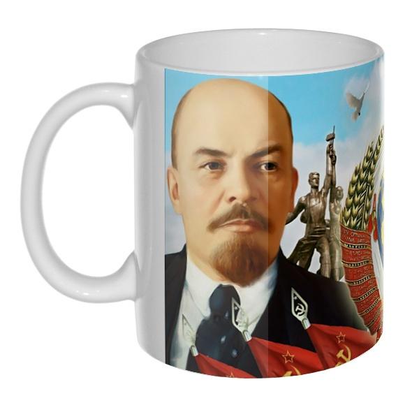 Ленин и Сталин, 3D-кружка