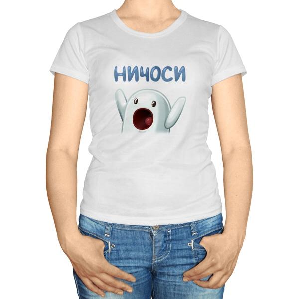 Женская футболка Ничоси