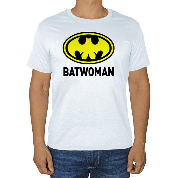 Белая футболка Batwomen