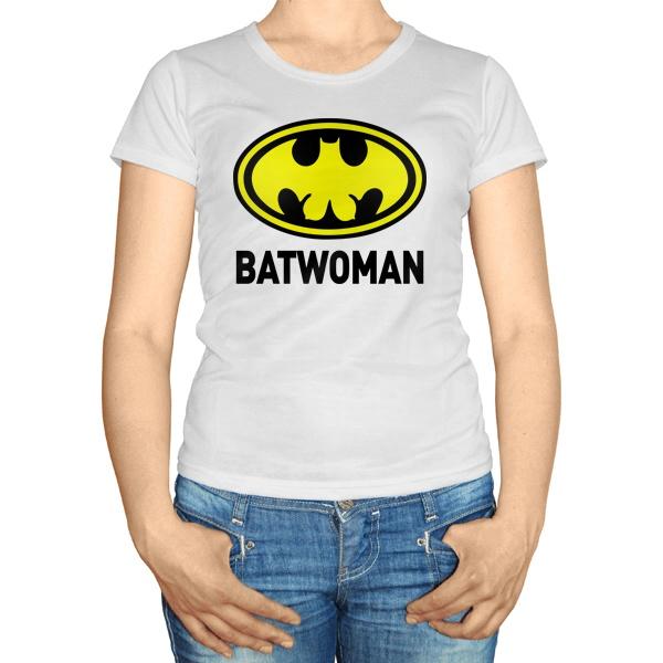 Женская футболка Batwomen