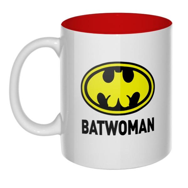 Batwomen, кружка цветная внутри
