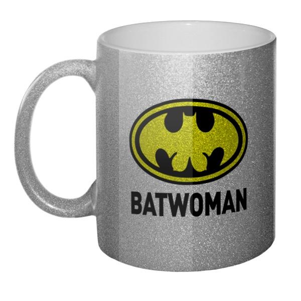 Кружка блестящая Batwomen