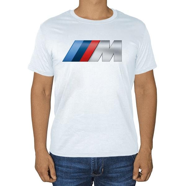 Белая футболка BMW M