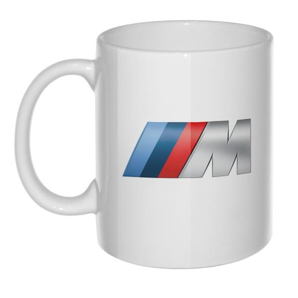 Кружка с логотипом BMW M