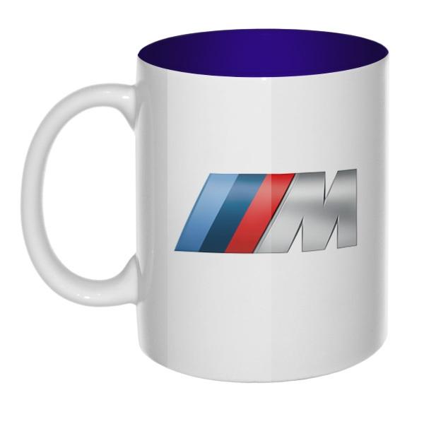 BMW M, кружка цветная внутри