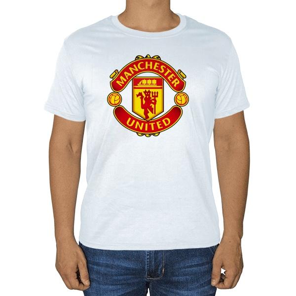Белая футболка Манчестер Юнайтед