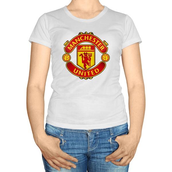 Женская футболка Манчестер Юнайтед