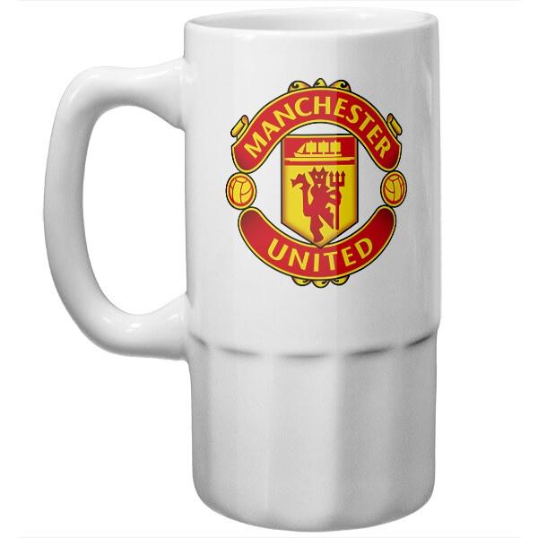 Пивная кружка Манчестер Юнайтед