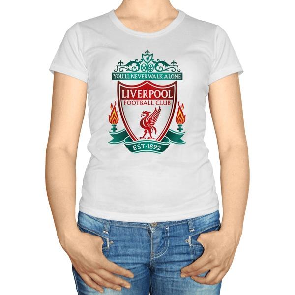 Женская футболка ФК Ливерпуль