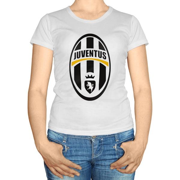Женская футболка Эмблема ФК Ювентус