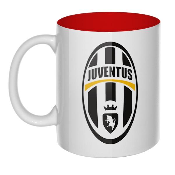 Эмблема ФК Ювентус, кружка цветная внутри
