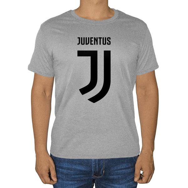 Juventus, серая футболка (меланж)
