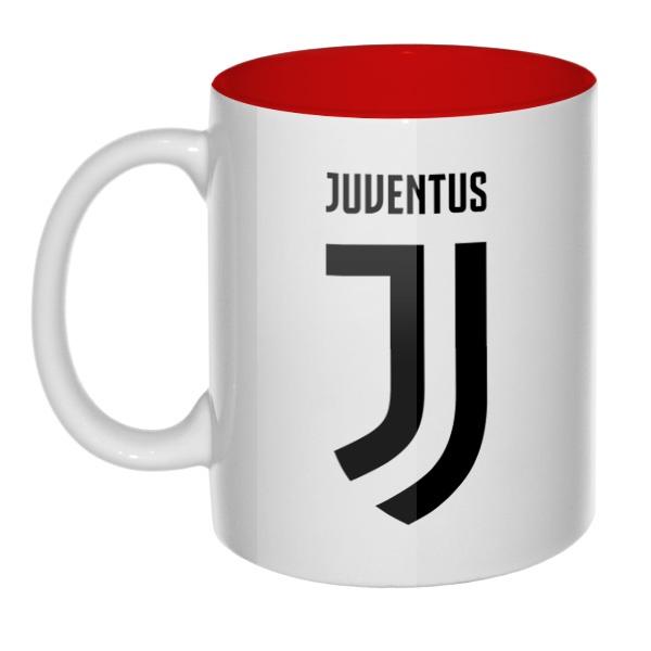 Juventus, кружка цветная внутри