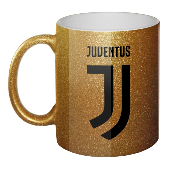 Кружка блестящая Juventus