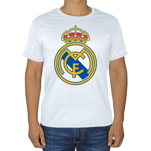 Белая футболка ФК Реал Мадрид