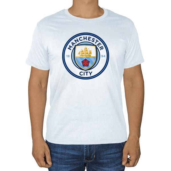 Белая футболка Манчестер Сити