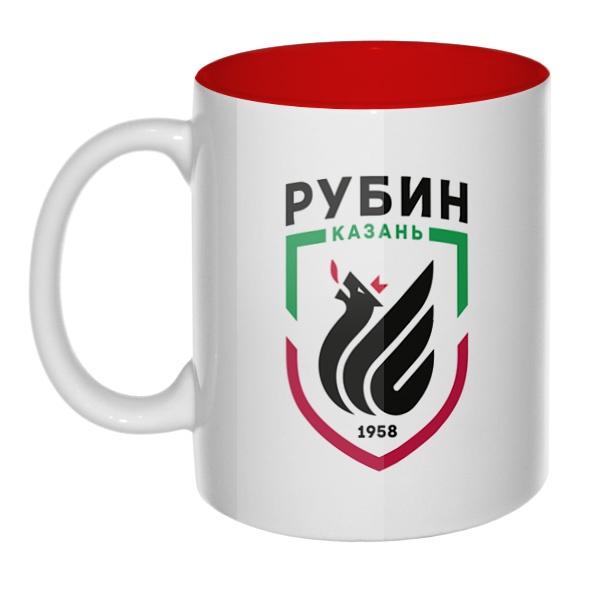 ФК Рубин, кружка цветная внутри