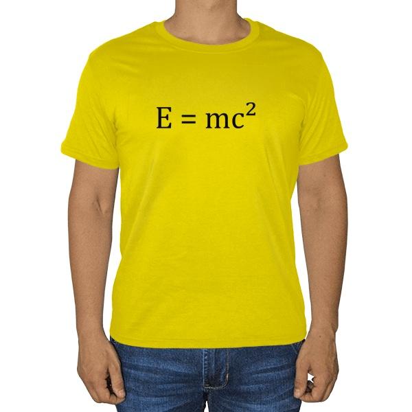 Футболка E=mc²