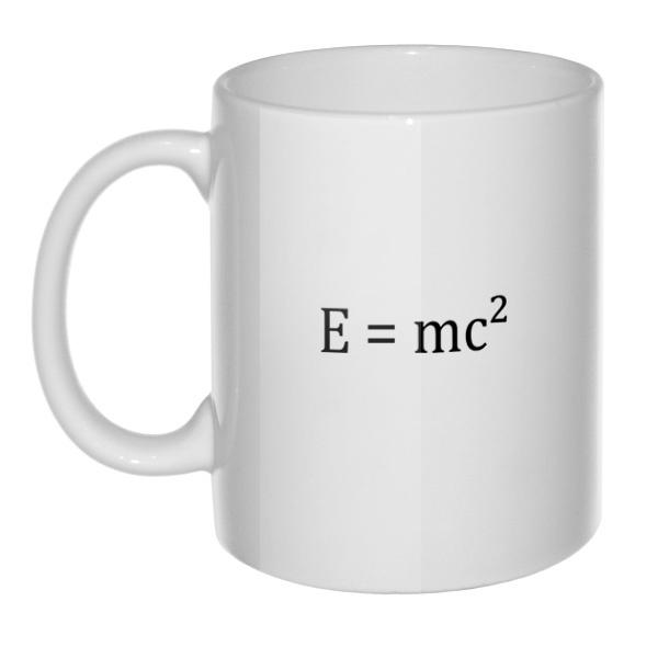 Кружка E=mc²