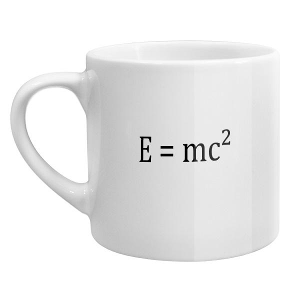 Кофейная чашка E=mc²