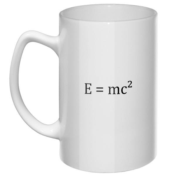 Большая кружка E=mc²