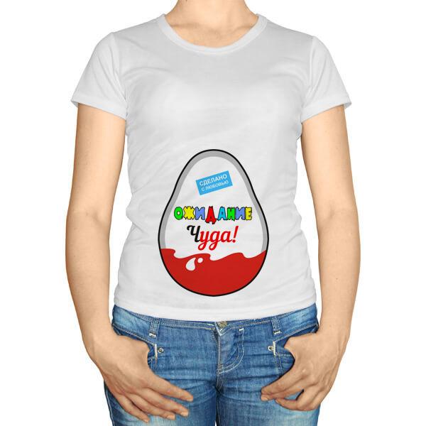 Женская футболка Ожидание чуда