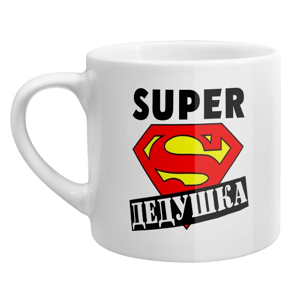 Кофейная чашка Super Дедушка