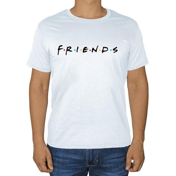 Белая футболка Сериал Друзья