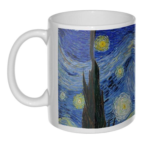 Кружка Звездная ночь Ван Гог