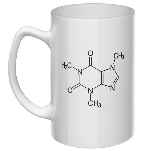 Большая кружка Кофеин
