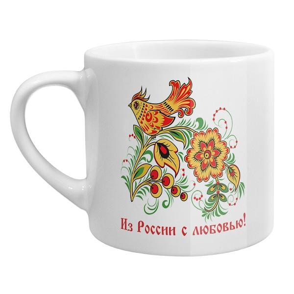 Кофейная чашка Из России с любовью!