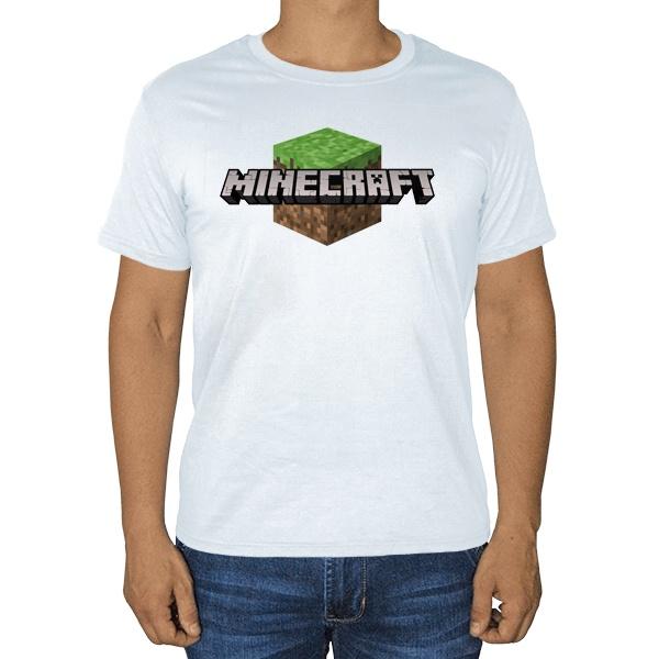 Белая футболка Майнкрафт