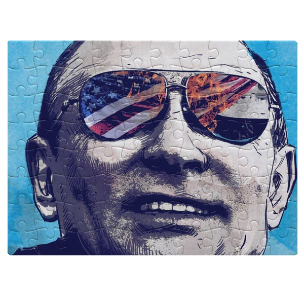 Магнитный пазл А5 Путин