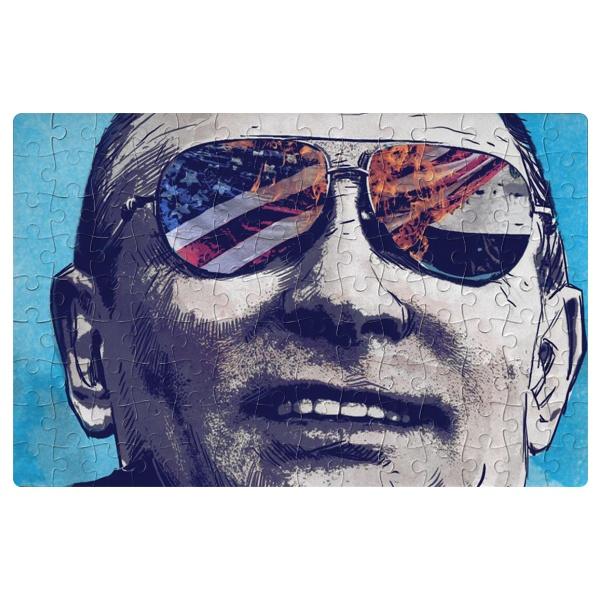 Магнитный пазл А4 Путин