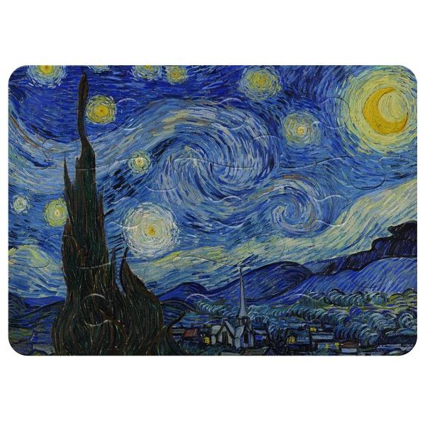 Магнитный пазл А5 (12 элементов) Звездная ночь (Ван Гог)