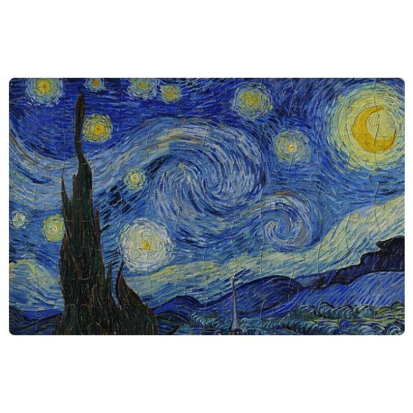 Магнитный пазл А4 Звездная ночь (Ван Гог)