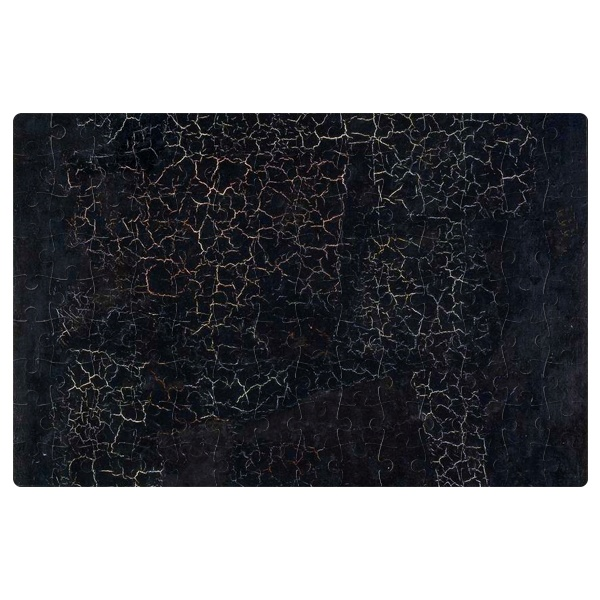 Магнитный пазл А4 Черный квадрат Малевича