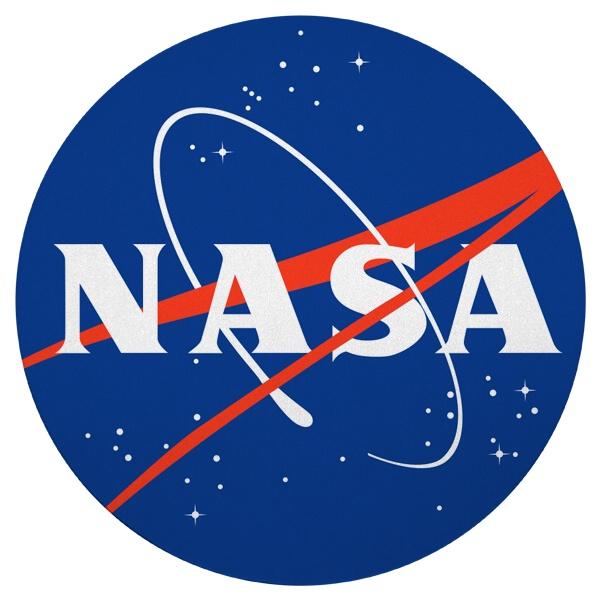 Круглый коврик для мыши NASA