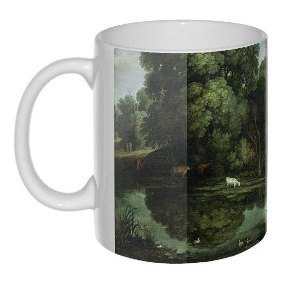 Картина Охота на уток, 3D-кружка