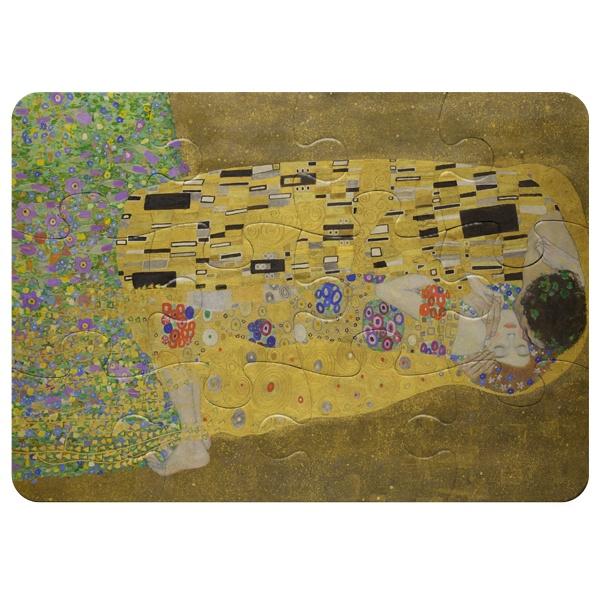 Магнитный пазл А5 (12 элементов) Картина Поцелуй