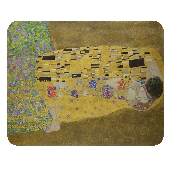Прямоугольный коврик для мыши Картина Поцелуй