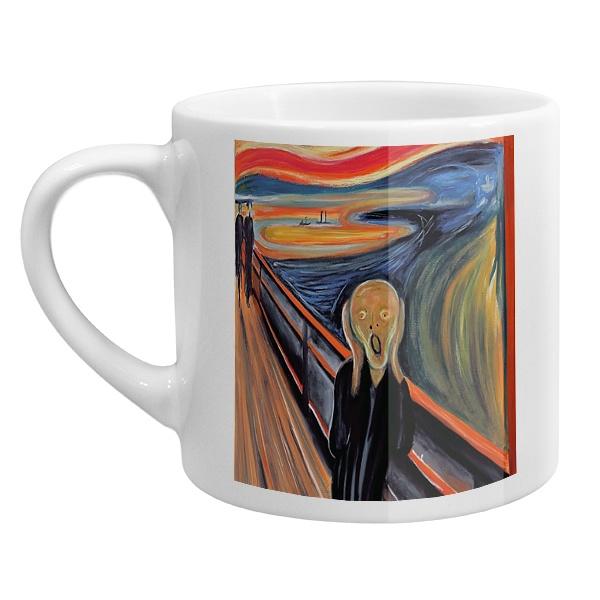 Кофейная чашка Крик