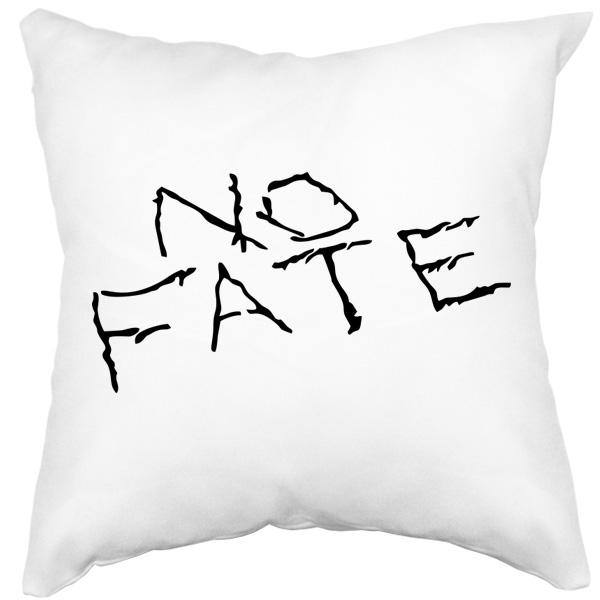 Белая подушка No fate (Нет судьбы)