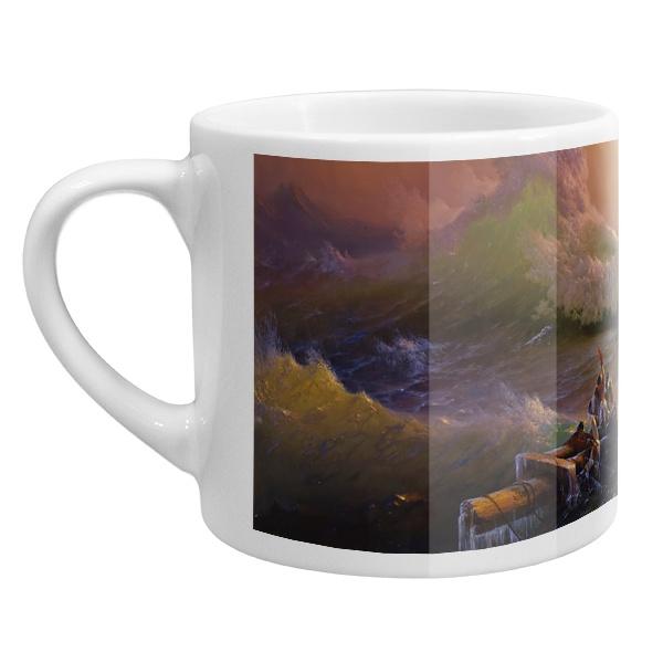 Кофейная чашка Девятый вал