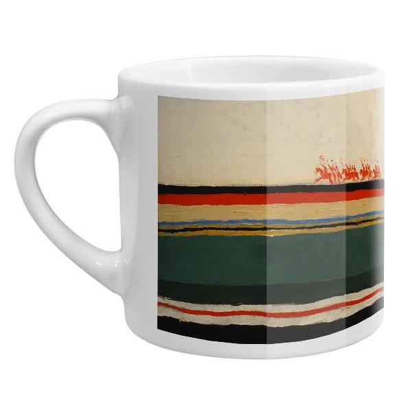 Кофейная чашка Скачет красная конница