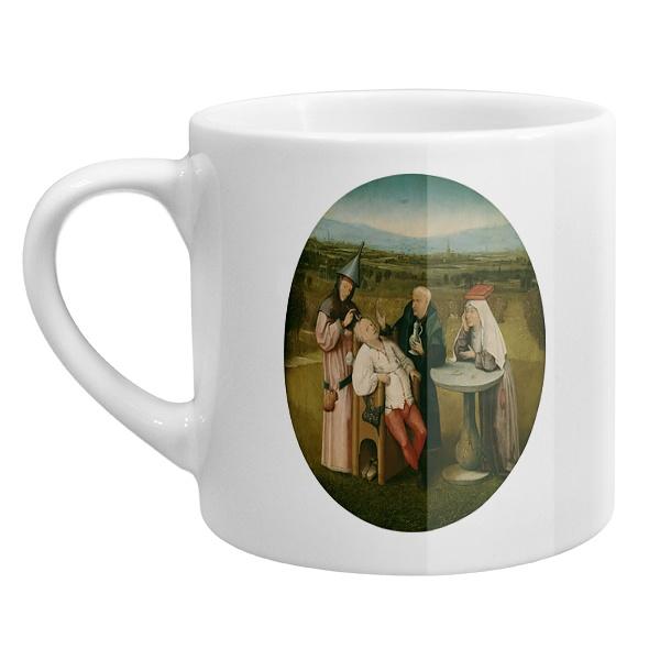 Кофейная чашка Извлечение камня глупости